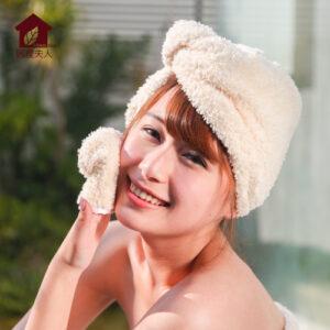 吸水浴帽,吸水毛巾