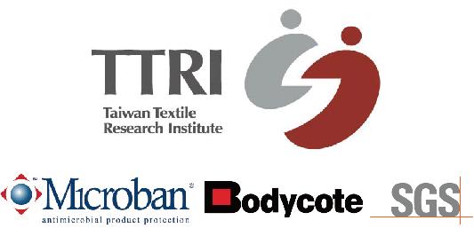 SGS,Microban,TTRI,Bodycode